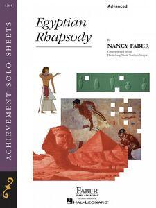 Egyptian Rhapsody Niveau Avancé Faber Piano Adventures Neuf 000420043-afficher Le Titre D'origine