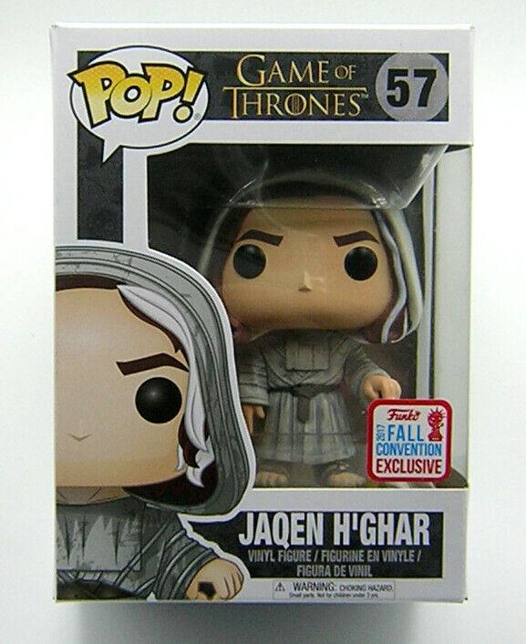 Game of Thrones Pop Vinyl 57 Jaqen H'Ghar NYCC 2017