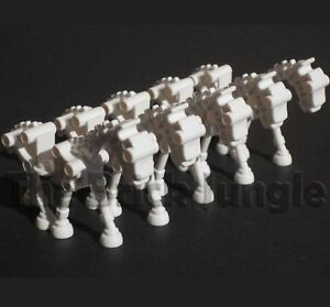 Custom-LEGO-bulk-skeleton-horse-army-city-castle-animal