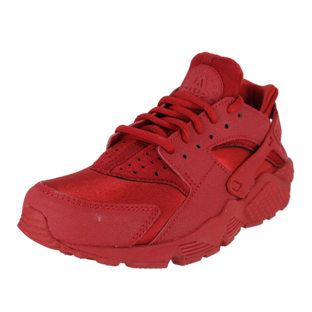 95d55e3d6c24 NIKE WMNS AIR HUARACHE RUN GYM RED SAIL BLACK 634835 601 WOMENS US SIZES