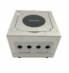 Nintendo GameCube Platinum Silver Console Only DOL-101 Tested