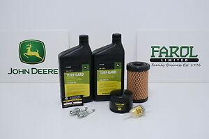 Genuine-John-Deere-Service-Filter-Kit-LG276-Ride-On-Lawnmower-Z235-Z255-X146R