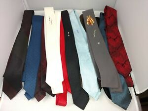 Vintage Skinny Neck Tie Gray Men/'s  Gray Tie with blue clip Mid-century men/'s fashion USSR the Soviet collecting ties the 60s