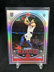 2018-Panini-Chronicles-255-Luka-Doncic-Marquee-MAVERICKS-Rookie-Silver-Holo-F16