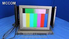 "Sony LMD-152W 15"" LCD Monitor w/ BKM-243HS HD/ SDI Input Mod & MEU-WX2"