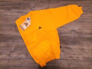 felpa bambino adidas gialla