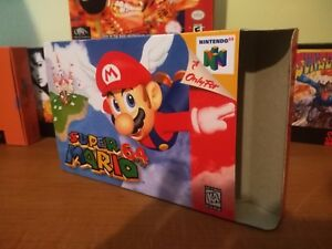 Super-Mario-64-N64-Art-Case-Replacement-Box-Only-Nintendo-64