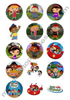 (15) 2 Little Einsteins Edible Image Premium Cupcake Or Cookie Toppers
