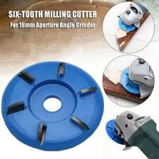 Power Wood Carving Polishing Tool Hexagonal Shovel Disc Blade Angle Grinder Q