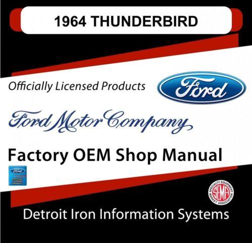 papakod.ru Car & Truck Manuals Automotive 1964 Ford Thunderbird ...