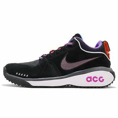 Mens Nike ACG Dog Mountain Running Trail Shoes Black Purple White AQ0916 001 | eBay