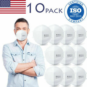 10-PACK KN95 GB2626 STANDARD Surgical Medical Face Mask / Similar to N95