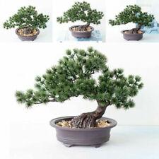 Artificial Bonsai Pine Tree Plastic Removable Fish Tank Aquarium Ornament Dfh8 For Sale Online Ebay