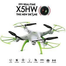 Syma X5HW FPV Wifi RC Quadcopter Drone with HD 0.3MP Camera Hover Function Mode