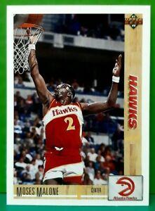 Moses Malone regular card 1991-92 Upper Deck #47