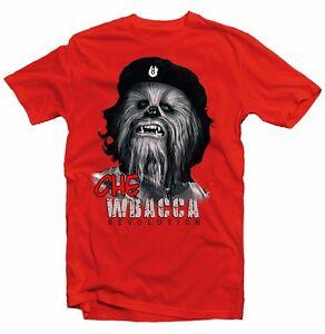 CHEWBACCA-Che-Guevara-revolution-red-cotton-printed-t-shirt-FN9316