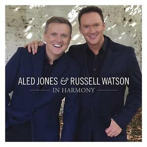 ALED JONES & RUSSELL WATSON IN HARMONY CD (Released November 9th 2018) 4050538445336
