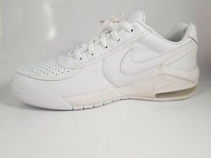 Details about Men's Nike Air Force Black Leather Basketball Shoes Athletics Sz 11 316492 006