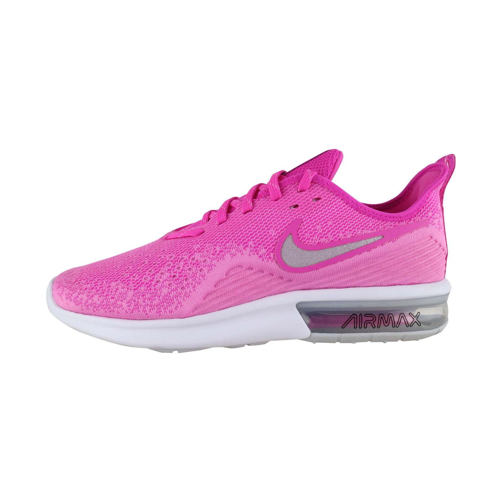 Nike Air Max Sequent 4 Women Pink White AO4486-601