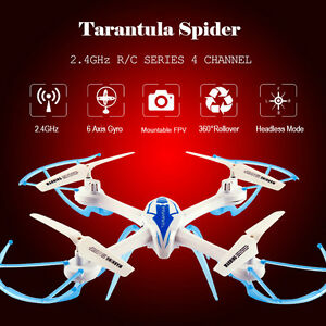 TARANTULA X6 2.4G 4CH 6-Axis 360° Rollover Mini RC Helicopter...
