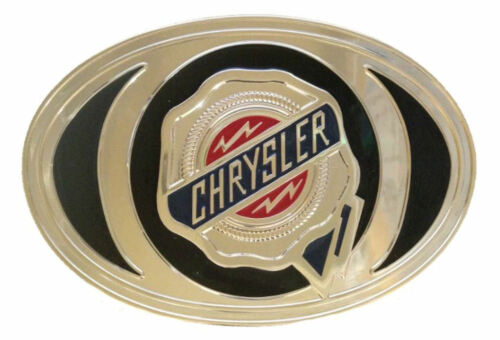 Chrysler Belt Buckle with Gold Finish