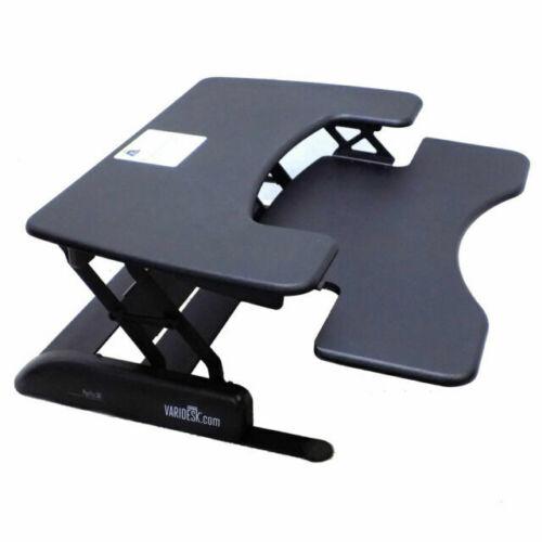 BRAND NEW - VARIDESK Pro Plus 36 Height Adjustable Standing Desk Black Ergonomic