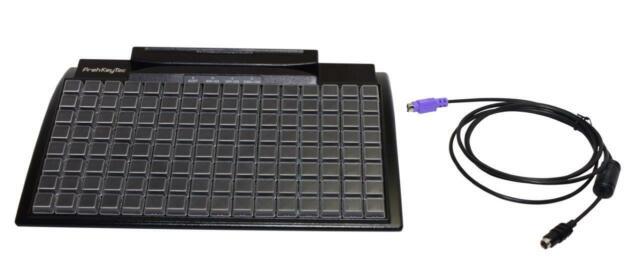 Kassentastatur POS Keyboard  Prehkeytec MCI 84 WX schwarz PS2 Tastatur