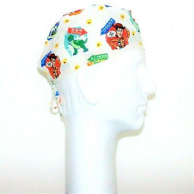 Buzz Lightyear Toy Story Theme Scrub Hat