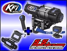 3000 lb KFI Winch Combo 2007-2013 Honda TRX420 Rancher 4x4 2014 AT