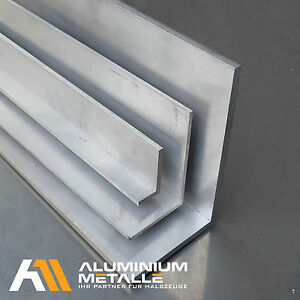 Aluminium-Winkel-ungleichschenklig-Alu-AlMgSi05-Profil-Aluwinkel-AW-6060-L-Stab