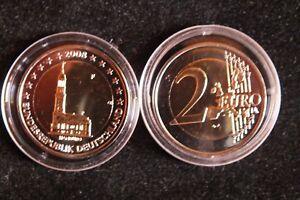 2 Euro Hamburger Michel Fehlprägung 2008 Selten Rar Ebay