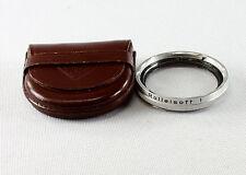 Rolleiflex Rolleisoft 0 (Duto 0) Lens, Bay II (2) in original leather case