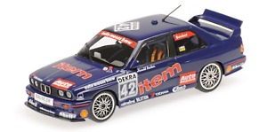 1:43 Bmw M3 Becker Dtm 1992 1/43 • Minichamps 430922042