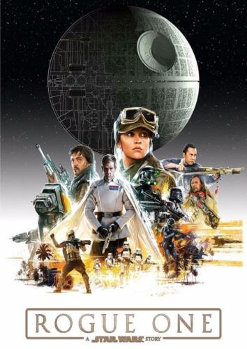 MOVIE Film Cinema wall Home Posters Art #10 A Star Wars Story Rogue One A3