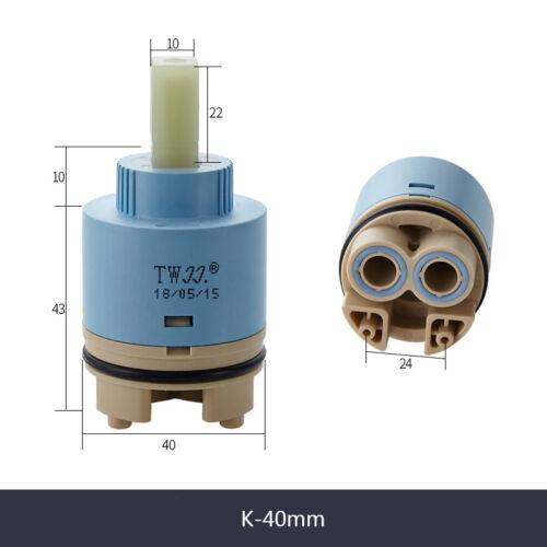25//35//40mm Ceramic Cartridge Large Flow Water Mixer Taps Valve Home Faucet Parts