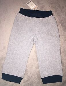 GYMBOREE-grey-navy-Warm-Comfy-Trackpants-Trackies-Size-1-BNWT-Combined-Post