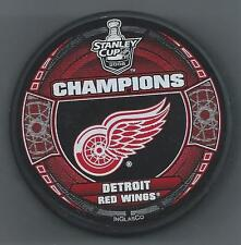 2008 Stanley Cup Champions  Detroit Red Wings  Souvenir Hockey Puck