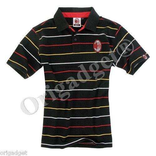T-Shirt Milan Pôle Lignes Coton Officiel S