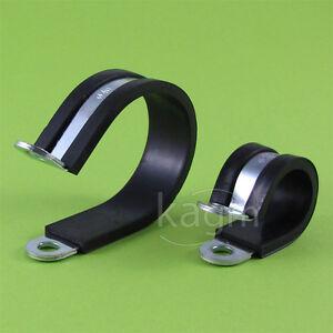 Rohrschelle Gummiert kostenloser Versand 15mm 10 Stück Schelle 12-16 mm Ø verz