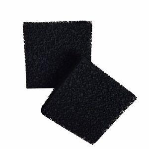 2 X Compatibile Schiuma Di Carbone Spugne Filtro Adatte A Juwel Grande/bioflow Pet Supplies