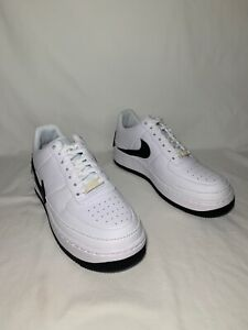 Details about Nike Air Force 1 Jester XX Women's Size 12 WHITEBLACK AO1220 102