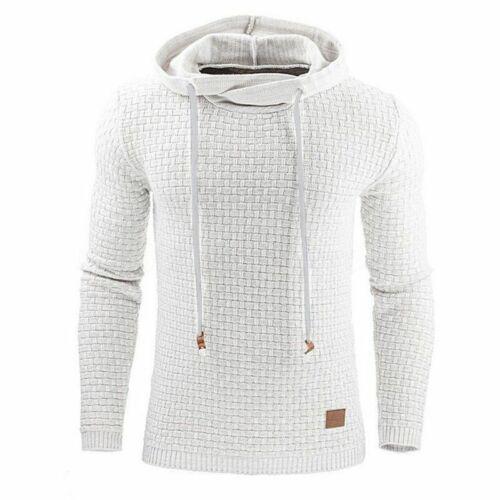 Mens Premium Athletic Soft Sherpa Lined Fleece Hoodie Coat Casual Sweater Jacket