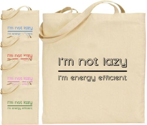 Econome Energie En I'm Sac tout Pas Coton Fourre Paresseux Shopping Grand xEEaOqIn