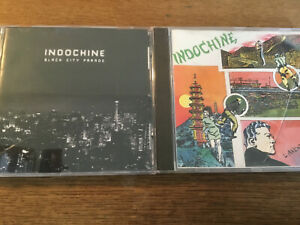 Indochine-2-CD-Alben-Black-City-Parade-L-039-aventurier