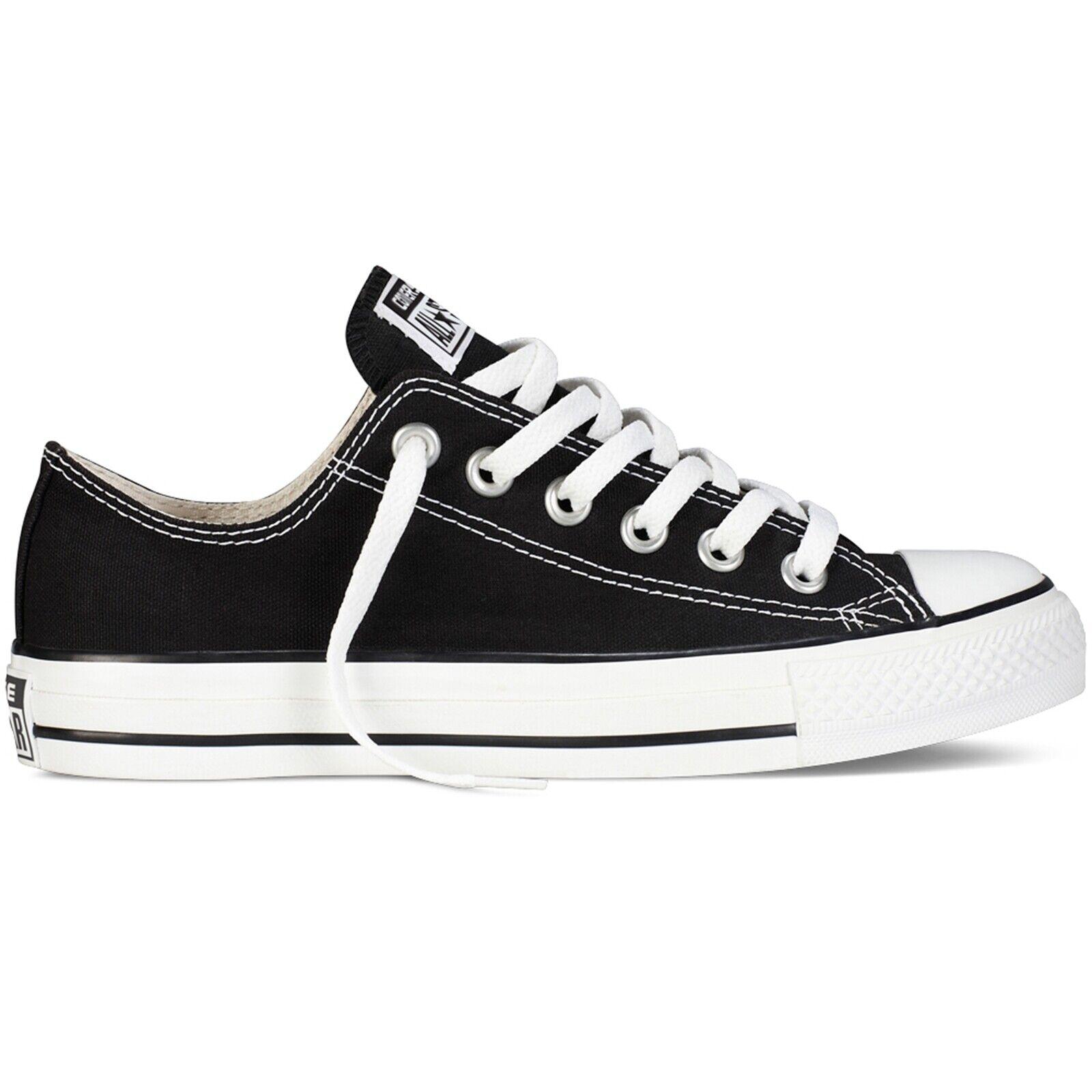 baskets CONVERSE Chuck TaylorAll Star chaussures Basse hommes femmes M9166C noir