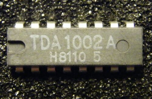 2x TDA1002A Recording and Playback Amplifier Philips