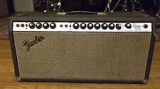1975 Fender Dual Showman Reverb Guitar Amplifier Amp Head | Vintage