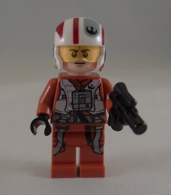 LEGO Star Wars Resistance X-Wing Pilot Figur Minifig X Wing EP7 TFA 75102