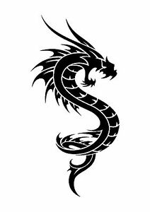 Hungry-Dragon-Tattoo-style-stencil-350-micron-Mylar-not-thin-stuff-TaT0013