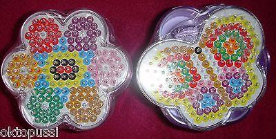 Schmetterling Clear-Cut-Textur Logisch Simba BÜgelperlen 2 Dosen A´1300 Teilen & Je Einer Vorlage Blume Spielzeug